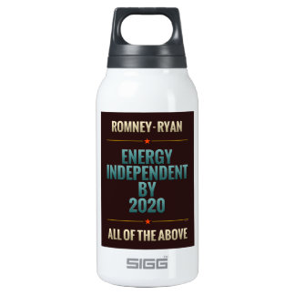 Energy Independent By 2020 Insulated Water Bottle