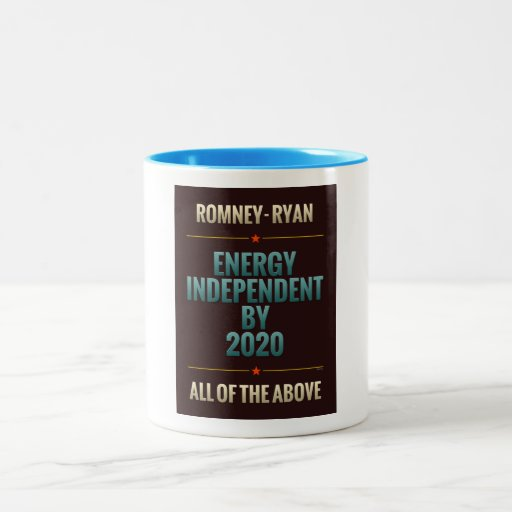 Energy Independent By 2020 Mug