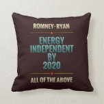 Energy Independent By 2020 Pillow