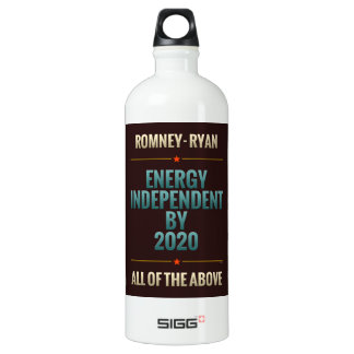Energy Independent By 2020 Water Bottle