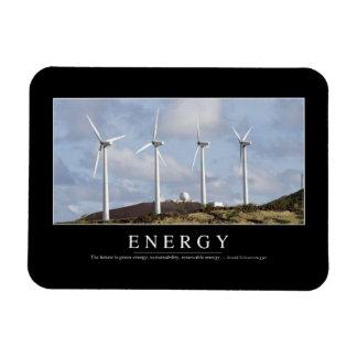 Energy: Inspirational Quote Magnet