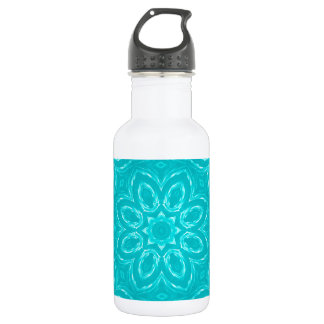 Energy Mandala - Aqua Stainless Steel Water Bottle