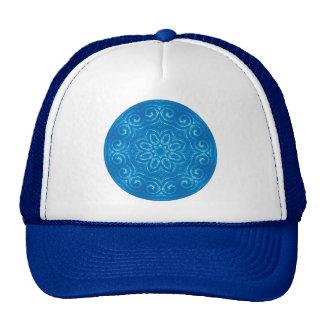 Energy Mandala - Blue Trucker Hat