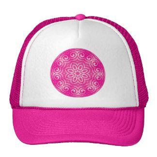 Energy Mandala - Pink Trucker Hat