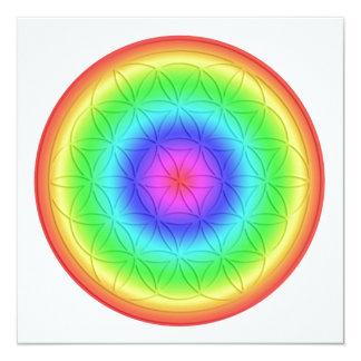 Energy map ~ Healing For Femininity ~ flower… Personalized Invitation