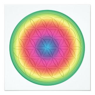 Energy map ~ Healing For Femininity ~ flower… Custom Invitation