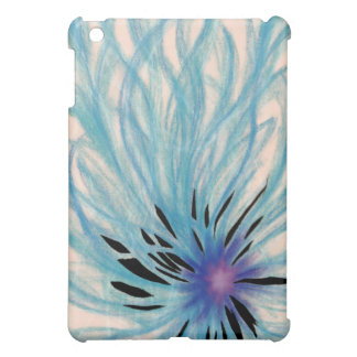 Energy Matrix Turquoise Abstract Art Cover For The iPad Mini