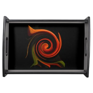 Energy of Creation Serving Platters