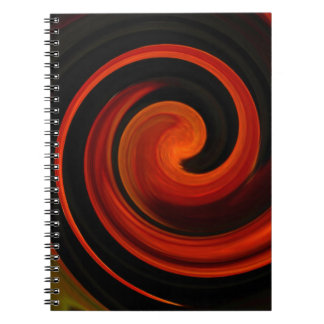 Energy of Creation Spiral Notebook