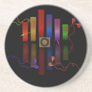 Energy of the sound drink coaster