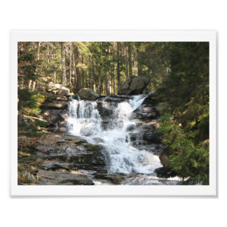 Energy picture water fall art photo