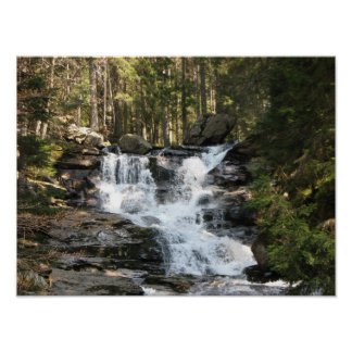 Energy picture water fall poster