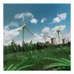 Energy Plant 2 Canvas Poster