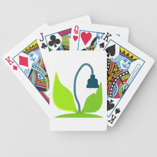 Energy Plant Bicycle Playing Cards