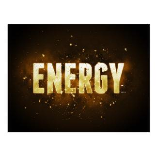 Energy Postcard