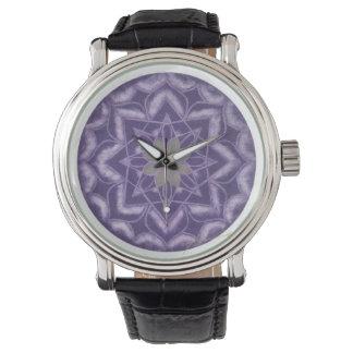 Energy POWER of purple mandala watch