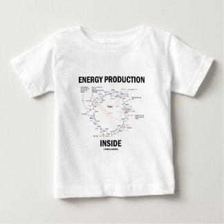 Energy Production Inside (Krebs Cycle TCAC) T-shirt