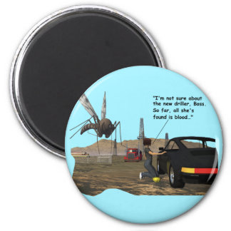 Energy Production - Mosquito Driller 2 Inch Round Magnet