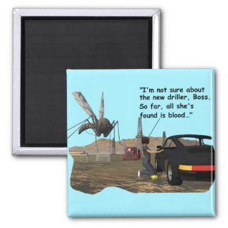 Energy Production - Mosquito Driller 2 Inch Square Magnet