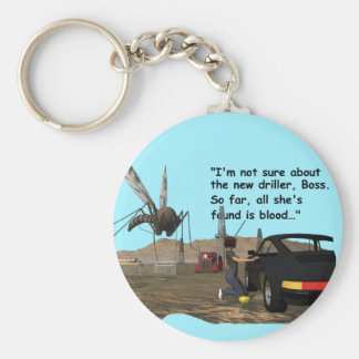 Energy Production - Mosquito Driller Keychain