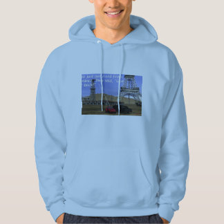 Energy Production - Oil Field - Eiffel Tower Hoodie
