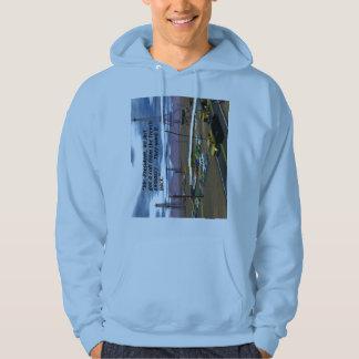 Energy Production - Oil Field - Eiffel Tower Sweatshirt
