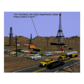 Energy Production - Oil Field Humor Poster