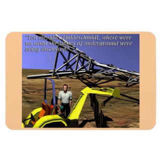 Energy Production - Transmission - Underground Magnet