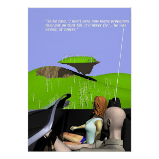 Energy Production - Wind Farm - Poster
