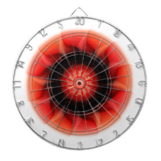 Energy red designed by Tutti Dart Boards