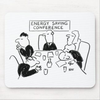 Energy Saving Theme Mouse Mat