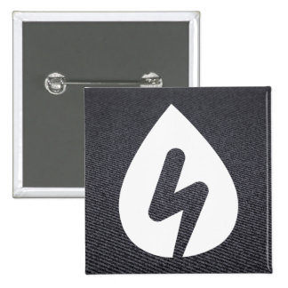 Energy Sparks Pictogram 2 Inch Square Button
