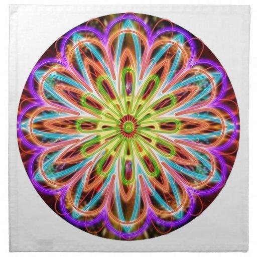 Energy Star de la chispa - arte de un amo de Reiki Servilleta