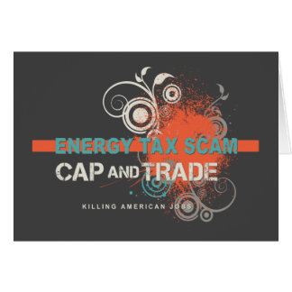 Energy Tax Scam Card