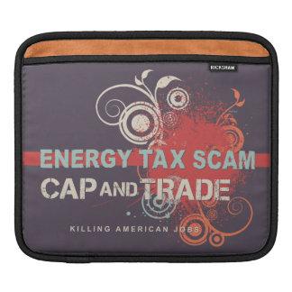 Energy Tax Scam iPad Sleeve