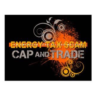 Energy Tax Scam Postcard