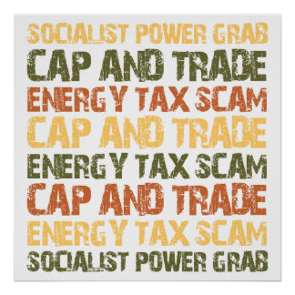 Energy Tax Scam Poster