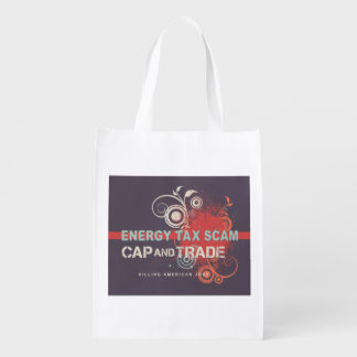 Energy Tax Scam Reusable Grocery Bag