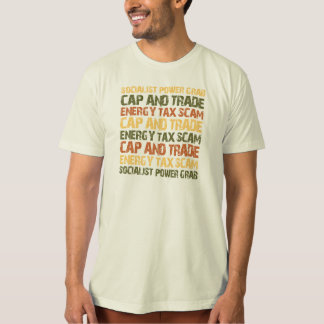 Energy Tax Scam T-Shirt