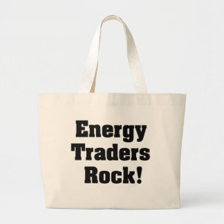 Energy Traders Rock! Canvas Bags