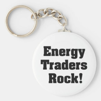 Energy Traders Rock! Key Chain