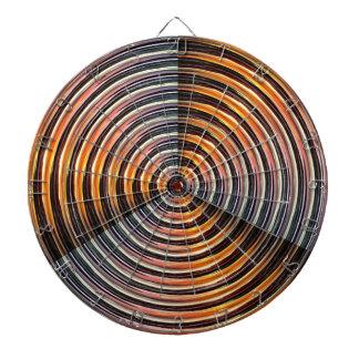 ENERGY Wheel : Golden Metal Look Dart Board