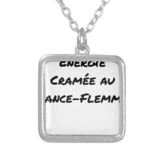 ENERGY WHICH BEEN ON FIRE WITH the LANCE-FLEMME - Silver Plated Necklace