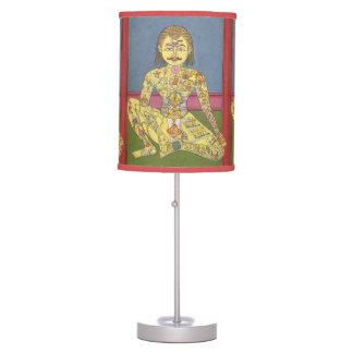 Energy Yoga table lamp
