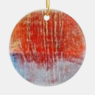 energyball ceramic ornament