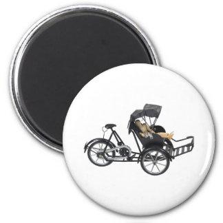 EnergyEfficientRickshaw112709 copy 2 Inch Round Magnet