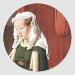 Enero Eyck- Juan Arnolfini y su esposa Etiqueta