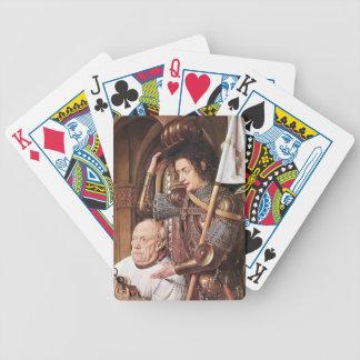 Enero Eyck- Madonna de Canon van der Paele Cartas De Juego