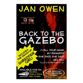 Enero Owen - de nuevo al poster del Gazebo TV