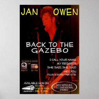 Enero Owen - según lo visto en la TV Póster